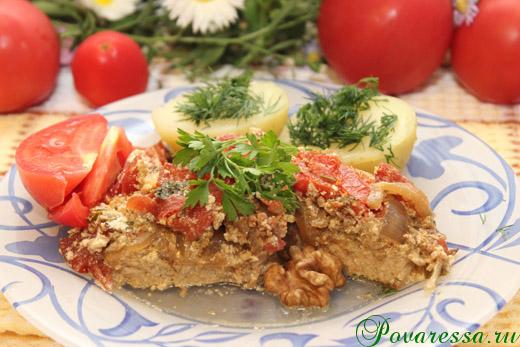 Рецепт с фото свинина с помидорами